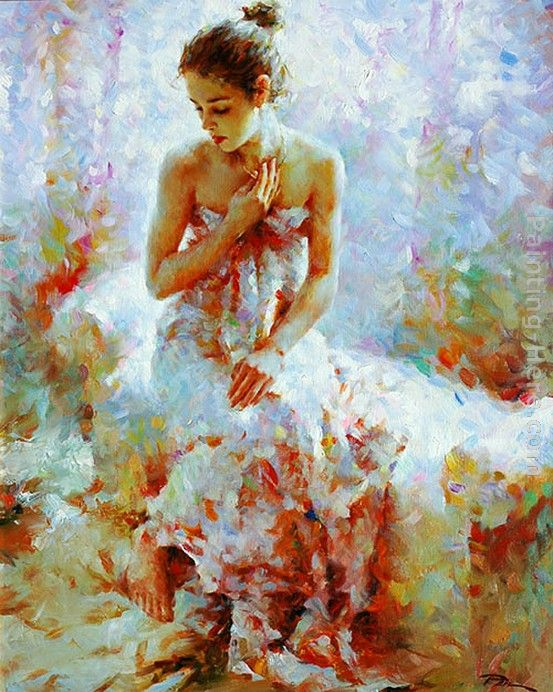 2011 Ballerina by Stephen Pan Art Painting