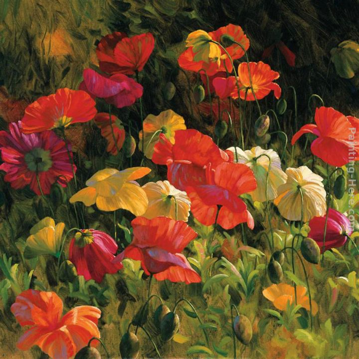 2011 Iceland Poppies Art Painting