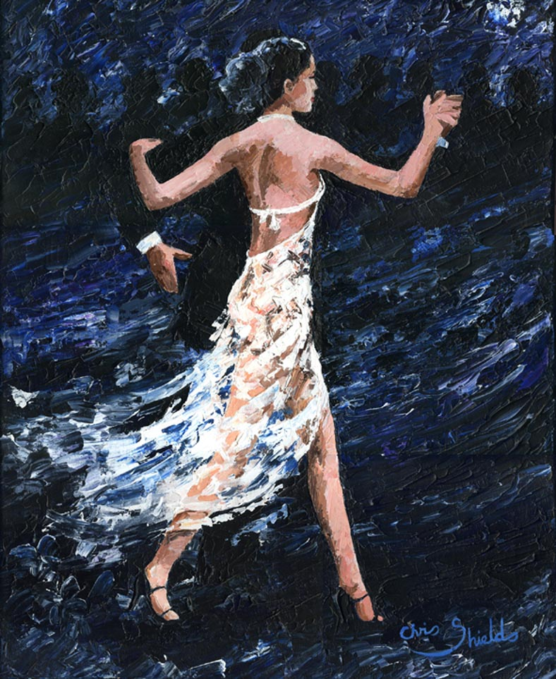 Tango Dream painting - 2011 Tango Dream art painting
