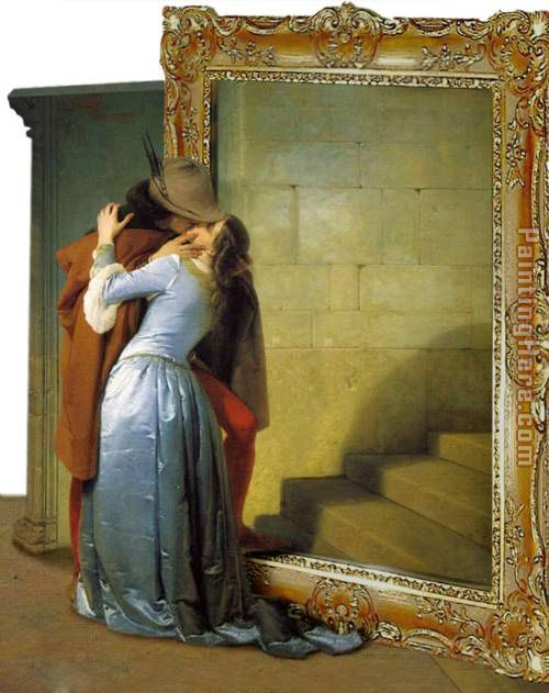 The Kiss by arturojm painting - 3d art The Kiss by arturojm art painting