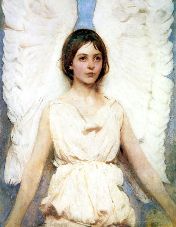 angel painting we offer 100   handmade reproduction of angel paintingClassic Angel Painting