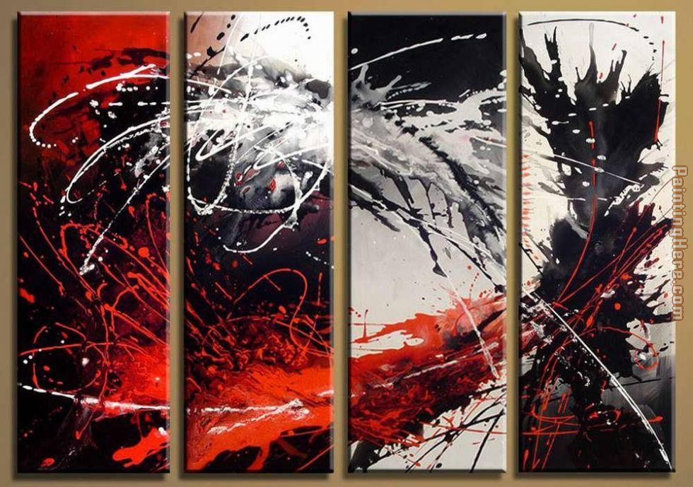 9 painting - Abstract 9 art painting