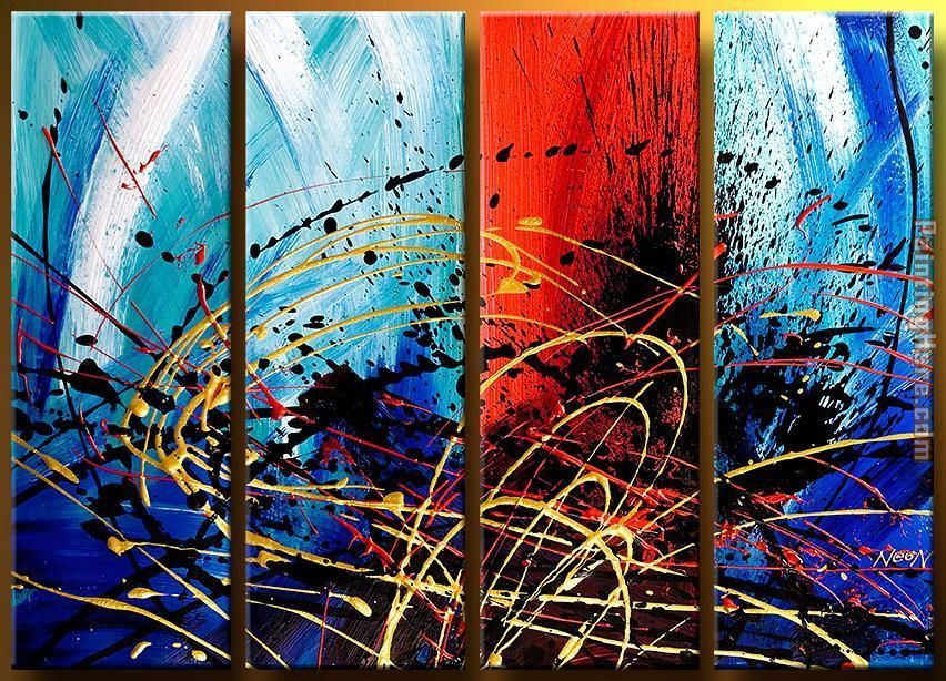 92616 painting - Abstract 92616 art painting