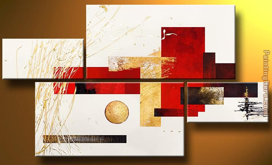 Abstract 92718 Art Painting