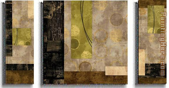 Abstract Brent Nelson Elevate and Escalate Art Painting