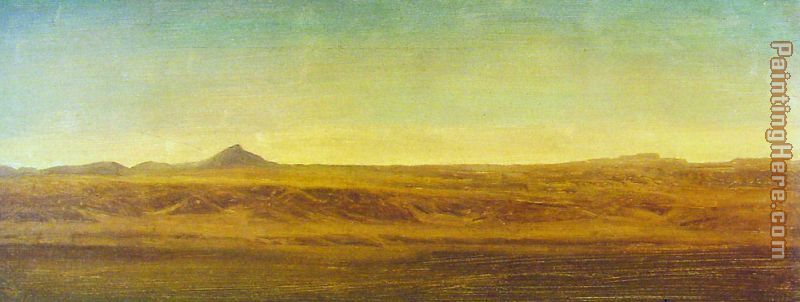 On the Plains painting - Albert Bierstadt On the Plains art painting
