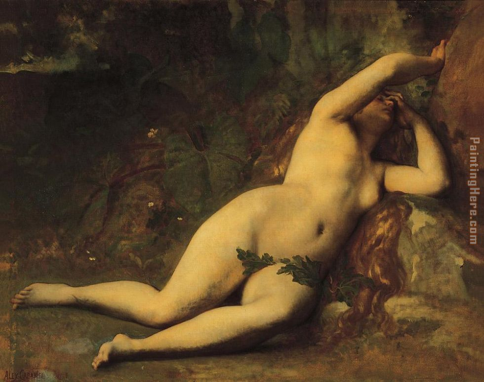 Eve After the Fall painting - Alexandre Cabanel Eve After the Fall art painting