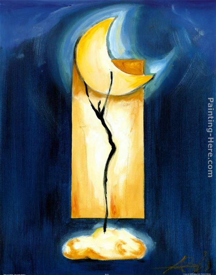 Moon Dance painting - Alfred Gockel Moon Dance art painting