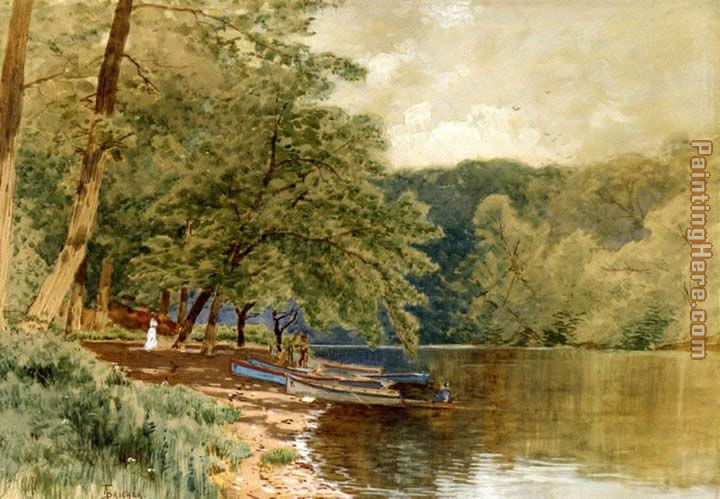 Rowboats for Hire painting - Alfred Thompson Bricher Rowboats for Hire art painting