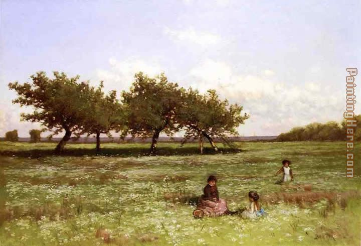 Alfred Thompson Bricher Summer Afternoon Long Island Art Painting