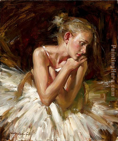 Thoughts before the Dance painting - Andrew Atroshenko Thoughts before the Dance art painting