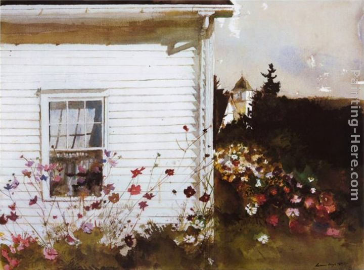 Andrew Wyeth Around The Corner Painting Anysize 50 Off