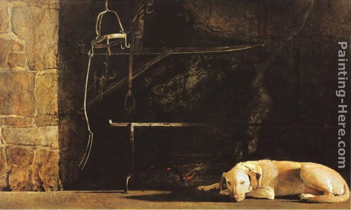 Ides of March painting - Andrew Wyeth Ides of March art painting