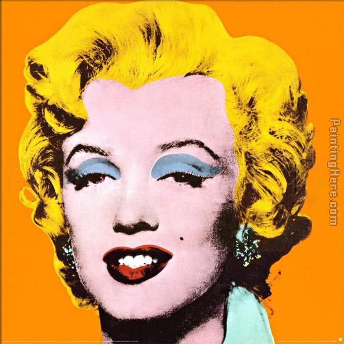 Marilyn painting - Andy Warhol Marilyn art painting