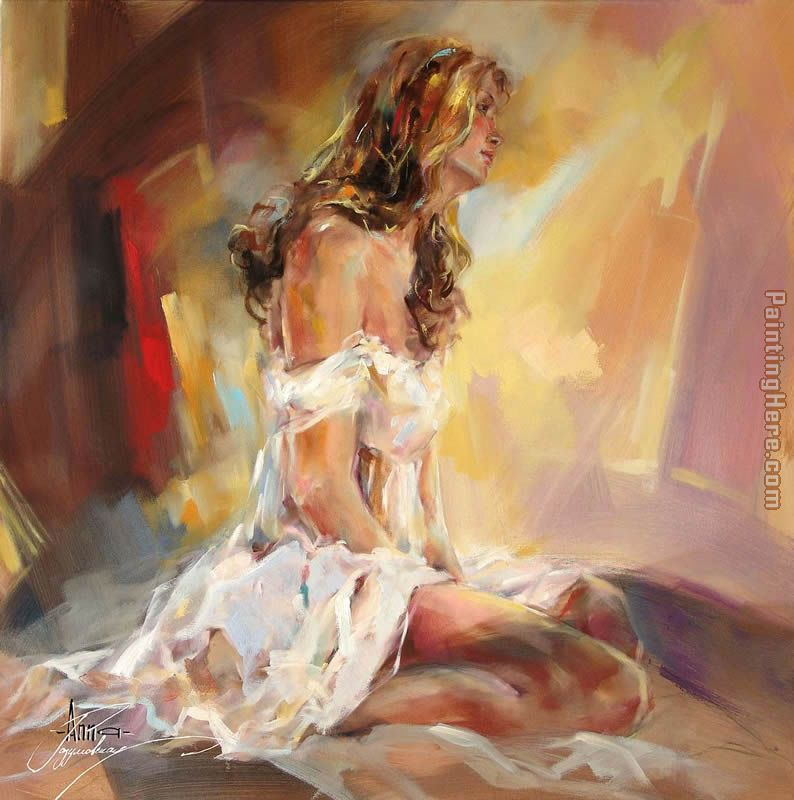Future Dreams painting - Anna Razumovskaya Future Dreams art painting
