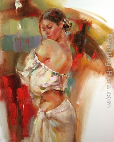 Limelight 3 painting - Anna Razumovskaya Limelight 3 art painting