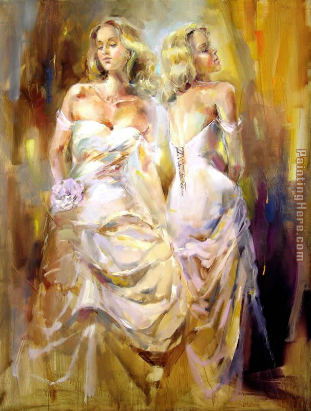 Soul Reflection painting - Anna Razumovskaya Soul Reflection art painting