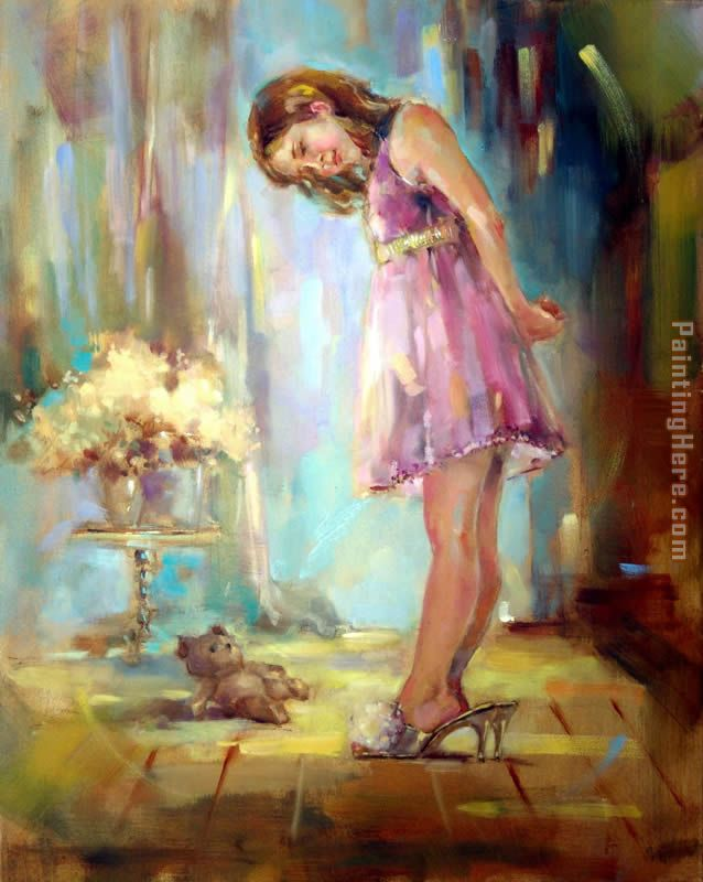 Well-Fitted painting - Anna Razumovskaya Well-Fitted art painting
