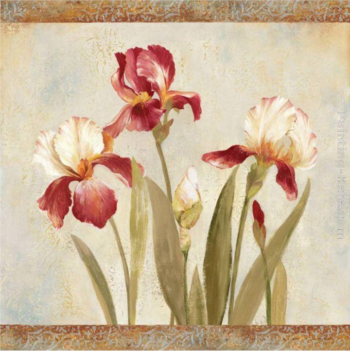 Asia Jensen Iris Tapestry Ii Painting Anysize 50 Off Iris Tapestry Ii Painting For Sale