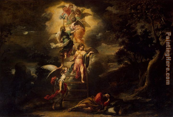 Bartolome Esteban Murillo Jacob's Dream Art Painting