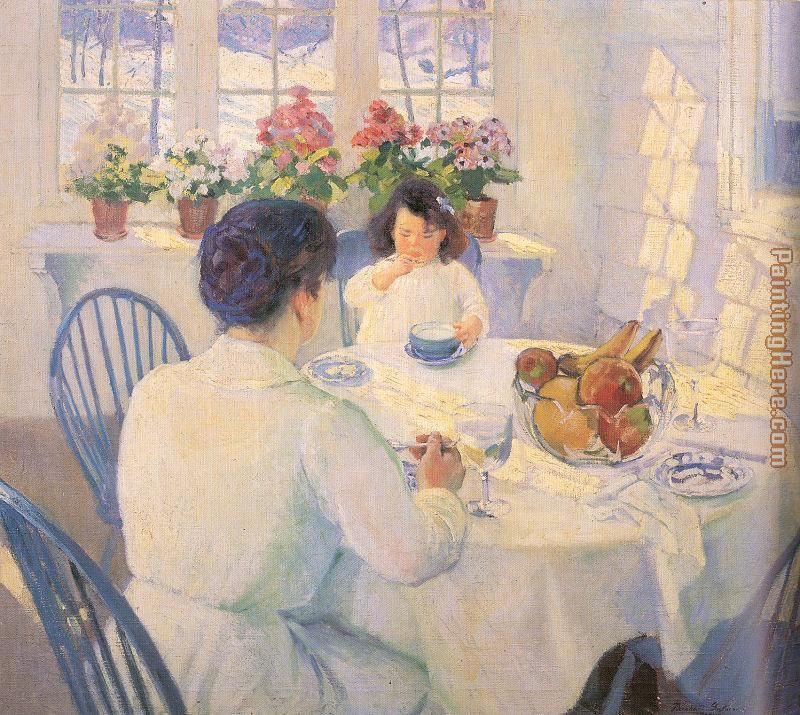 The Breakfast Room painting - Bernhard Gutmann The Breakfast Room art painting