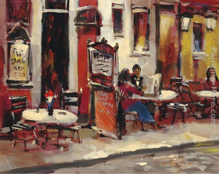 Impressionist Artists Cafe Bar Paintings