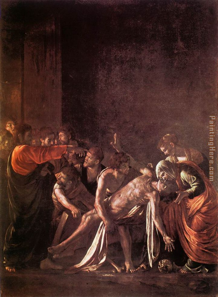 Caravaggio The Raising of Lazarus Painting anysize 50% off