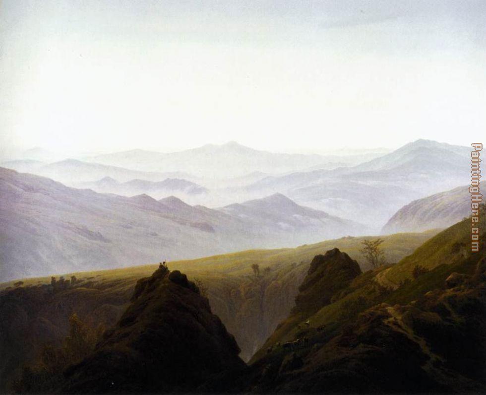 101d216fb Caspar David Friedrich Morning in the Mountains painting anysize 50 ...