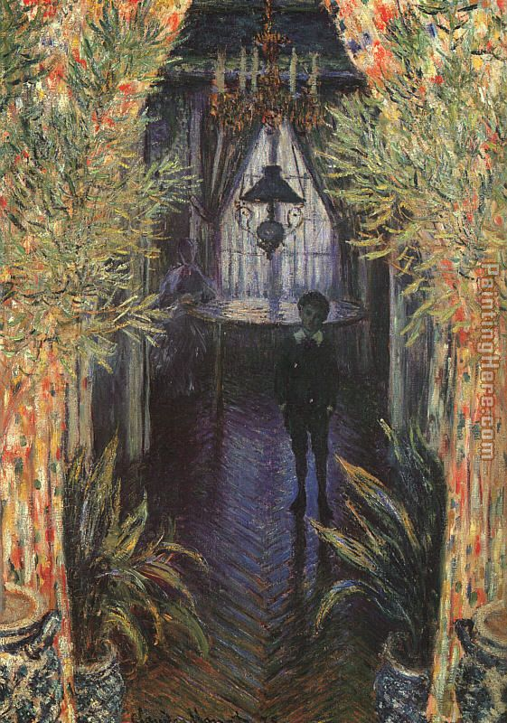A Corner of the Apartment painting - Claude Monet A Corner of the Apartment art painting