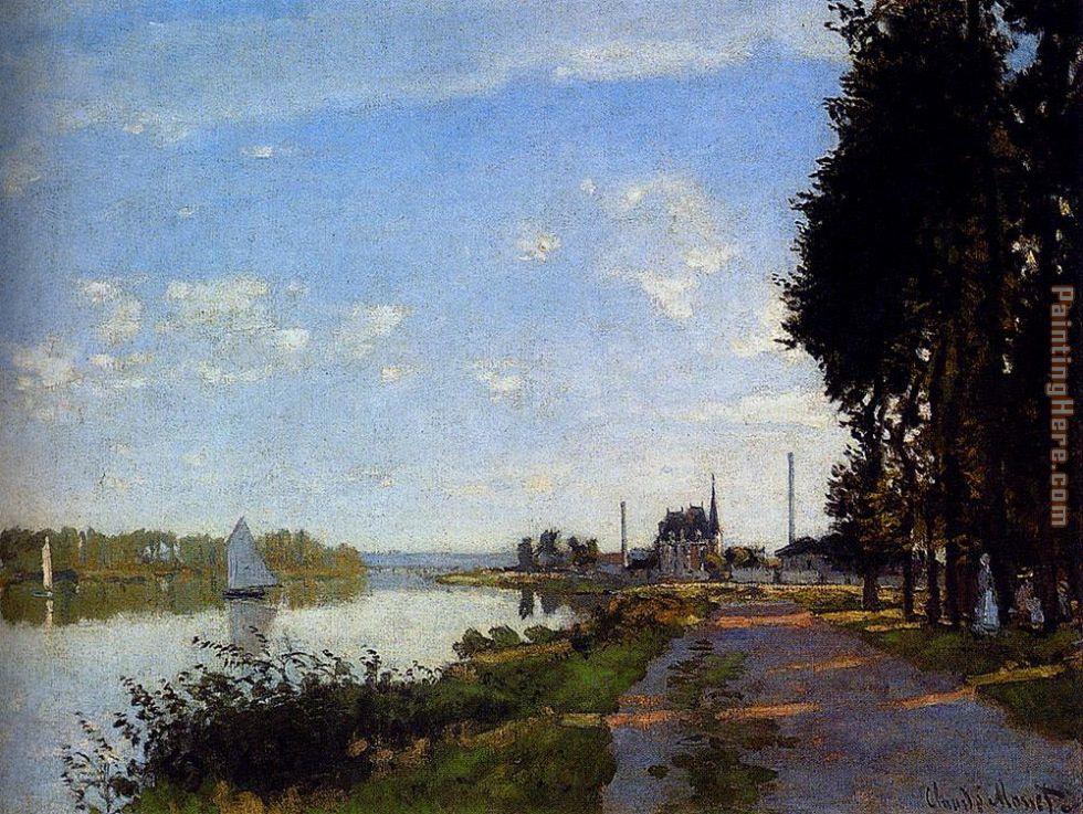 Claude Monet Argenteuil Art Painting