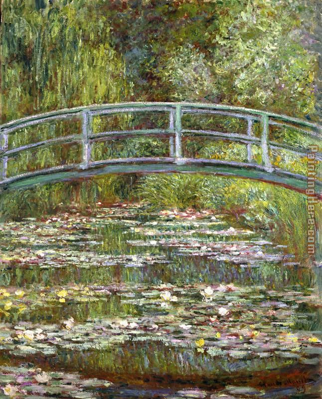 Bridge over a Pool of Water Lilies painting - Claude Monet Bridge over a Pool of Water Lilies art painting