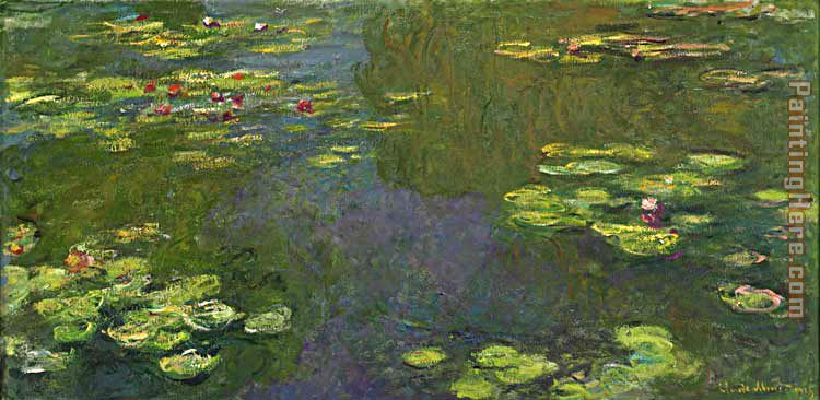 Claude Monet Le bassin aux nympheas Art Painting