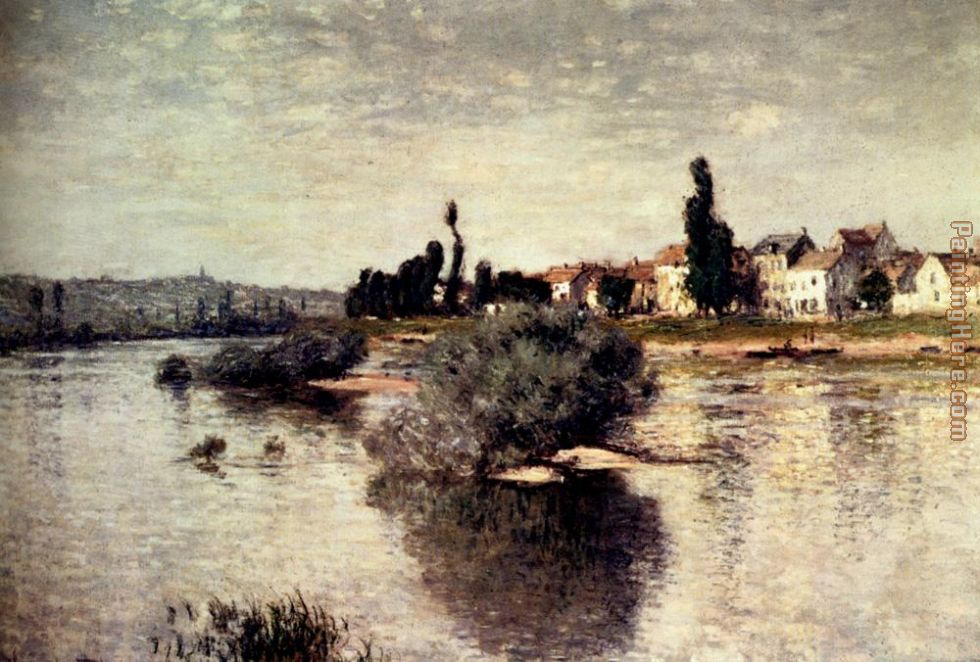 The Seine At Lavacourt painting - Claude Monet The Seine At Lavacourt art painting