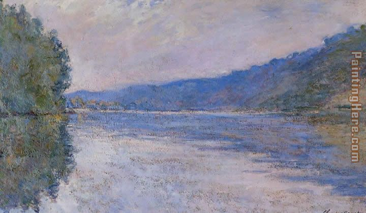 The Seine at Port Villez painting - Claude Monet The Seine at Port Villez art painting