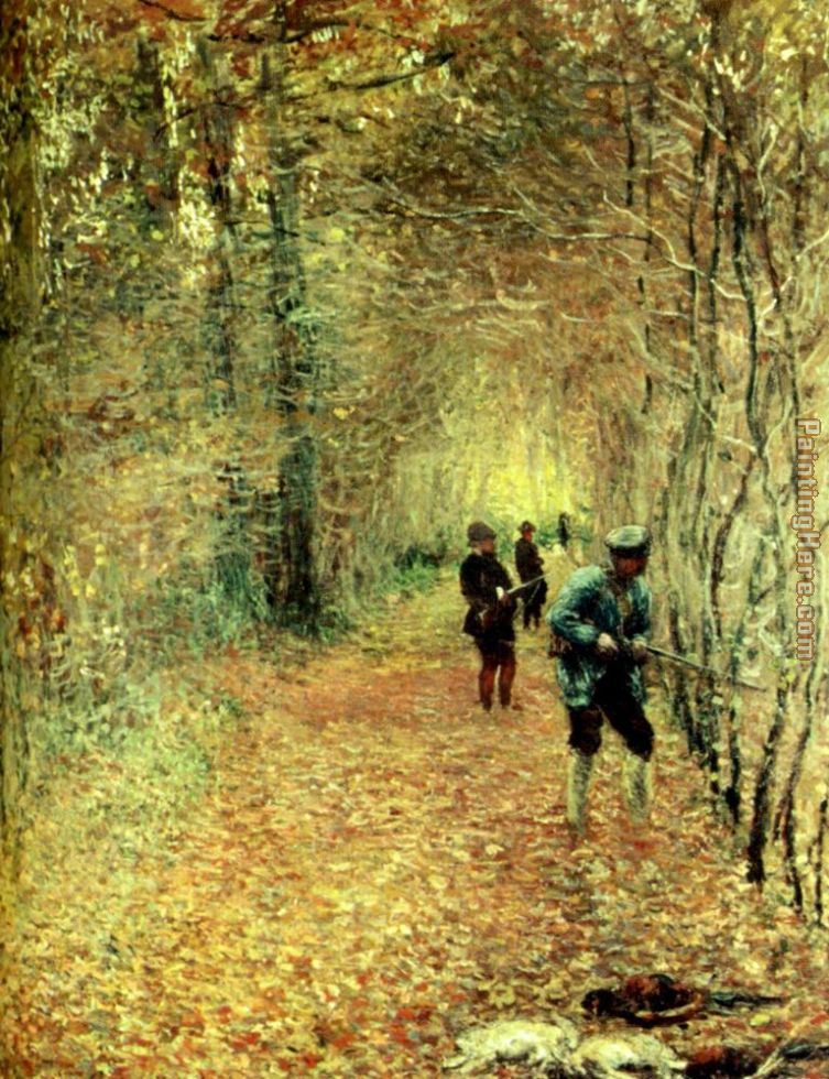 The Shoot painting - Claude Monet The Shoot art painting