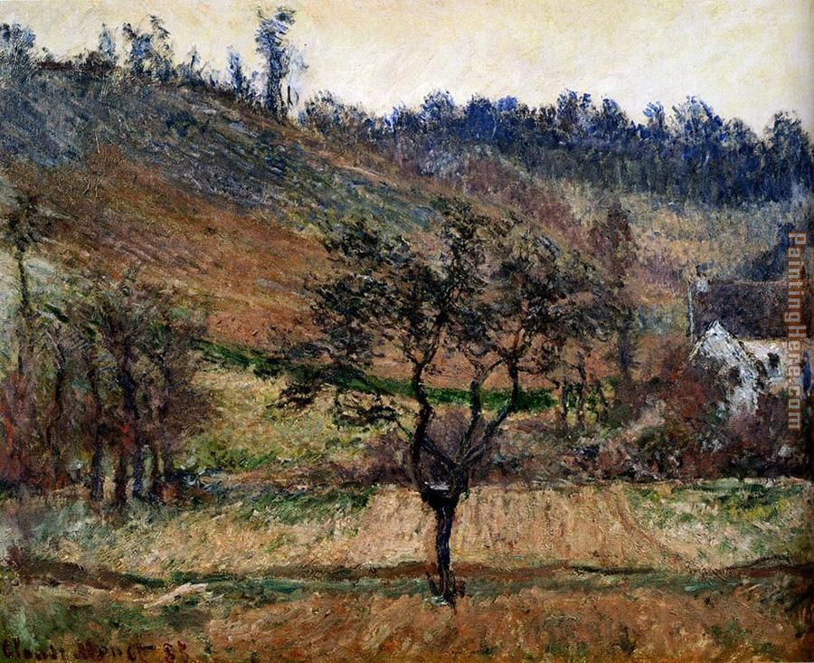 The Valley Of Falaise painting - Claude Monet The Valley Of Falaise art painting