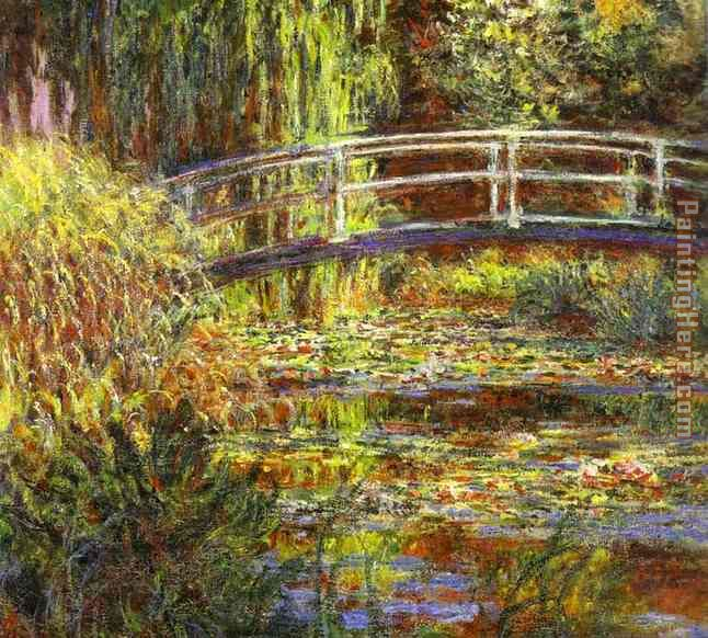 The Water Lily Pond painting - Claude Monet The Water Lily Pond art painting