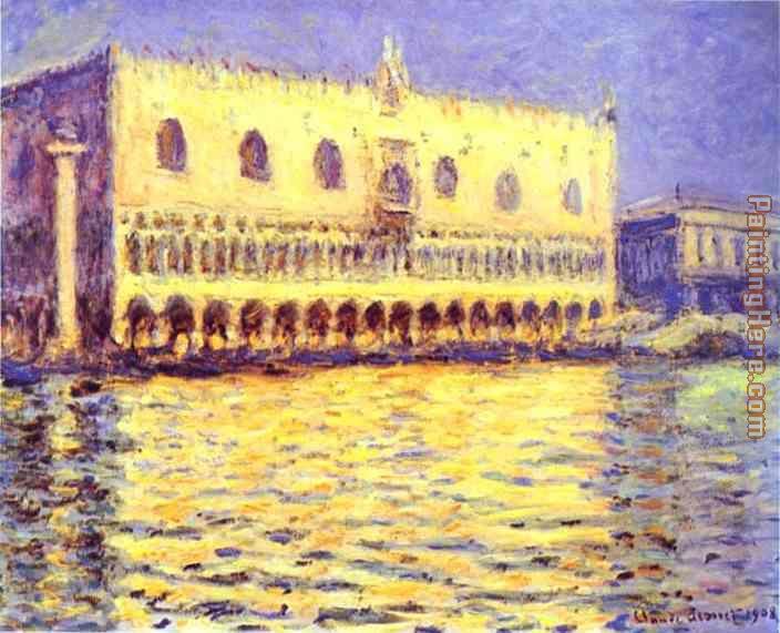Claude Monet Venice The Doge Palace painting anysize 50% off ...