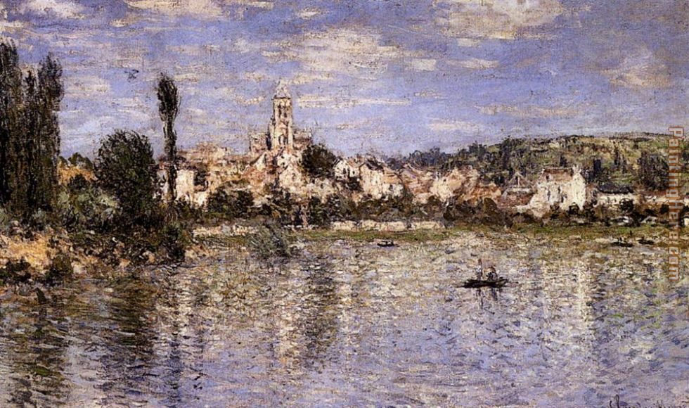 Vetheuil In Summer painting - Claude Monet Vetheuil In Summer art painting