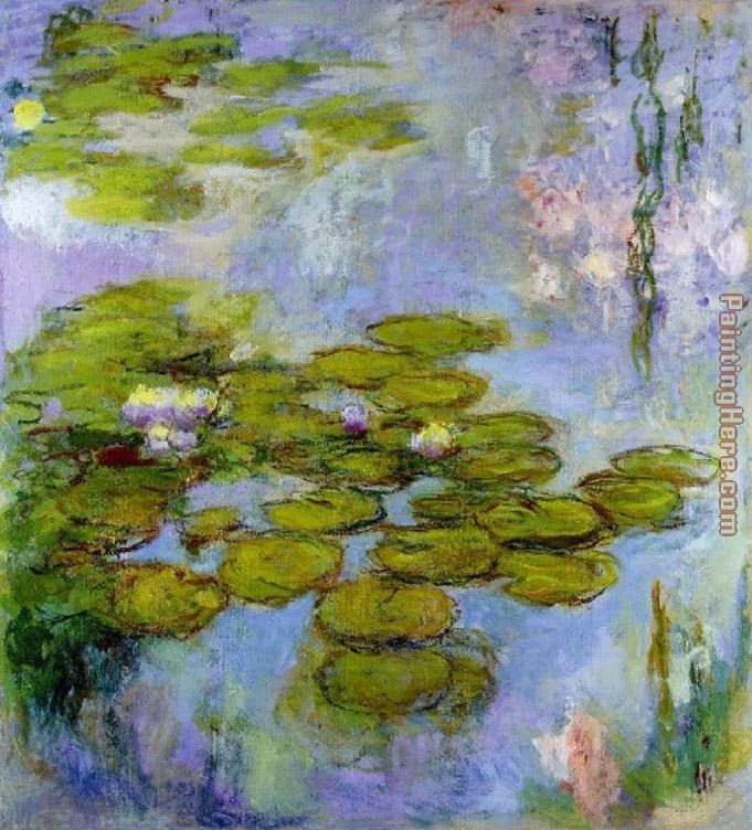 Water Lilies 13 painting - Claude Monet Water Lilies 13 art painting