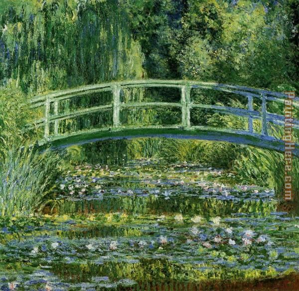 Water Lily Pond painting - Claude Monet Water Lily Pond art painting