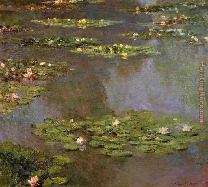 Water-Lilies 05 painting - Claude Monet Water-Lilies 05 art painting