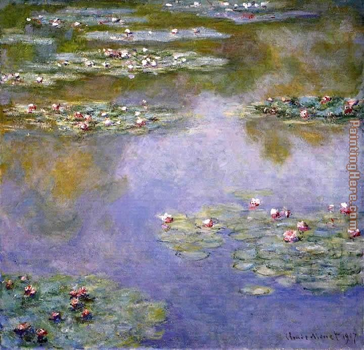 Water-Lilies 07 painting - Claude Monet Water-Lilies 07 art painting