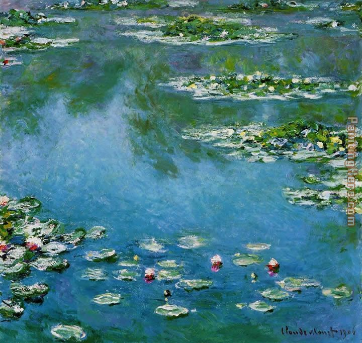 Water-Lilies 22 painting - Claude Monet Water-Lilies 22 art painting