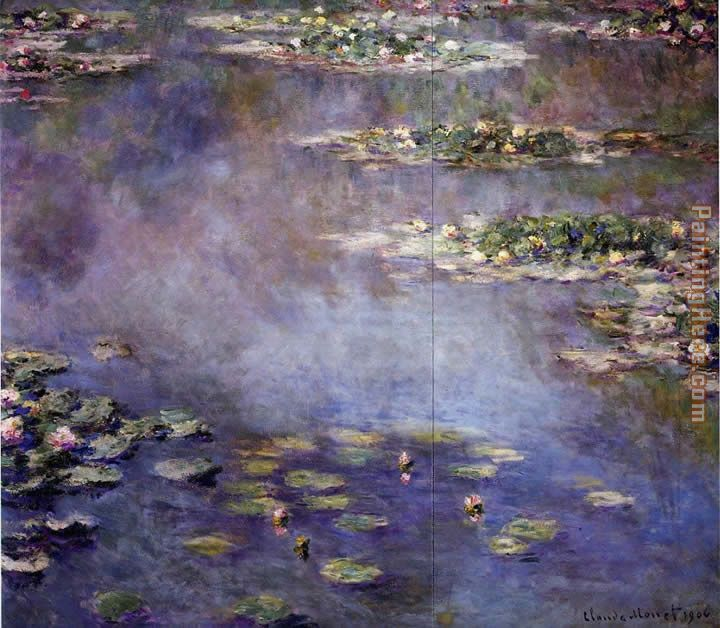 a critique on claude monets painting titled water lilies It is this expanse of water that inspired monet to paint impression: sunrise en plein air: despite later criticism, most of monet's early work was painted in true impressionist style this involved painting the scene or 'motif' outside and in one sitting.