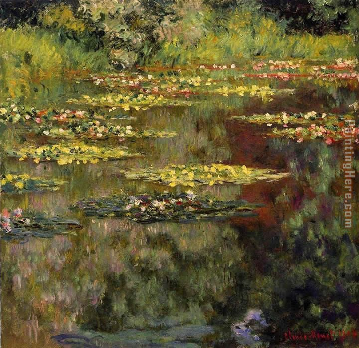 Water-Lilies 27 painting - Claude Monet Water-Lilies 27 art painting