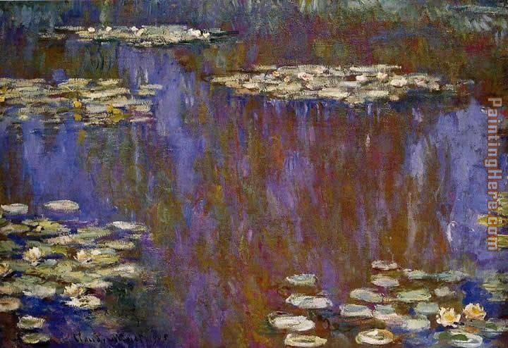 Water-Lilies 28 painting - Claude Monet Water-Lilies 28 art painting