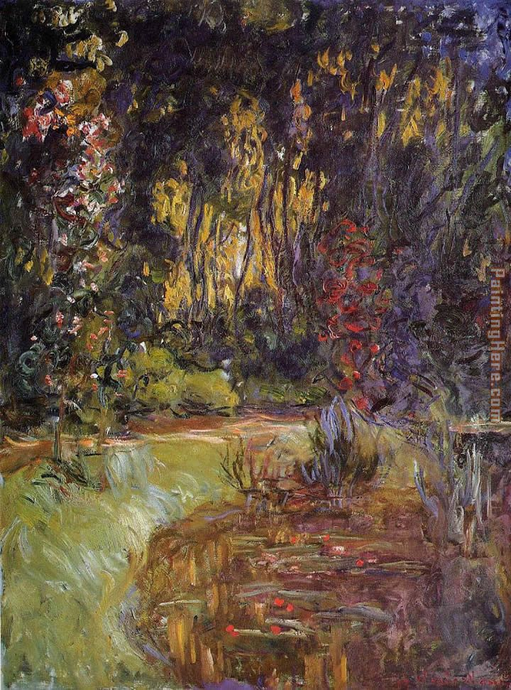 Water-Lily Pond at Giverny painting - Claude Monet Water-Lily Pond at Giverny art painting