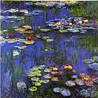 Water-Lilies 1914 by Claude Monet