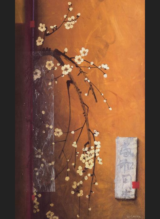 Oriental Blossoms III painting - Don Li-Leger Oriental Blossoms III art painting